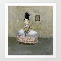 frida kahlos' grandgrandgrandmother Art Print