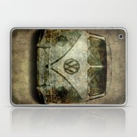 Classic VW  micro bus with battle scars and a distressed patina Laptop & iPad Skin