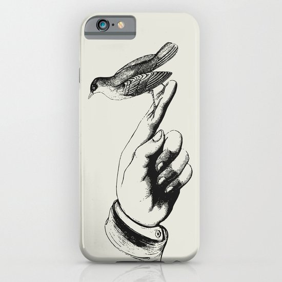 Bird in the Hand iPhone & iPod Case