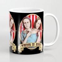 Tattler Twins (color) Mug