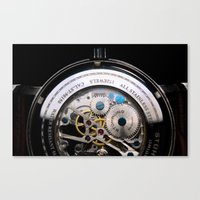Inner Time Canvas Print