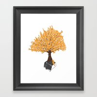 Tree Of Knowledge Framed Art Print