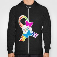 You can't have a Rainbow without the Rain - Awareness Ribbon Hoody