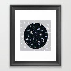 Night Blooming Framed Art Print