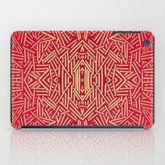 Radiate (Red Yellow Ochre non-metallic) iPad Case
