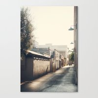 Friday Evening, Pasadena Canvas Print