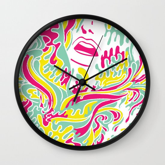 Eyegasmic Wall Clock