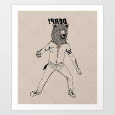 DERP!!! Art Print