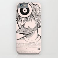 iPhone & iPod Case featuring Fish'n'target by ValD