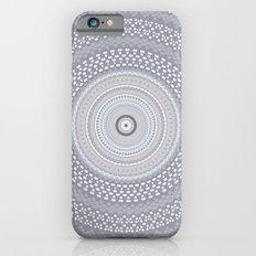 Kaleidoscope Greys Pattern Slim Case iPhone 6s