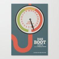 Das Boot - U-boot 96 - A… Canvas Print