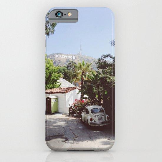 Hollywood, California iPhone & iPod Case