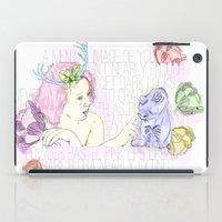 Spring & Her Cat iPad Case