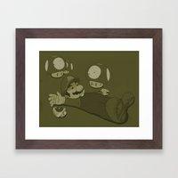 Tragic Ending-raw Framed Art Print