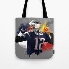 Tom Brady Tote Bag