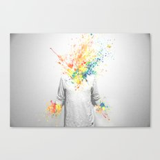 Colorful Madness Canvas Print