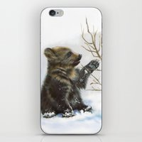 bear cub iPhone & iPod Skin