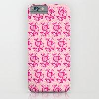 Pink Monkey iPhone 6 Slim Case