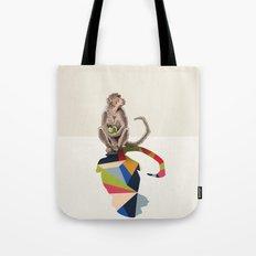 Walking Shadow, Monkey Tote Bag