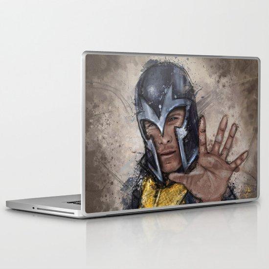 Magneto. Laptop & iPad Skin