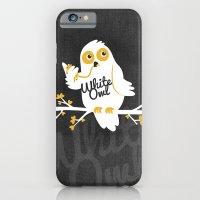 White Owl iPhone 6 Slim Case