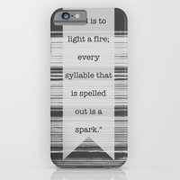 To Learn to Read is to Light a Fire iPhone 6 Slim Case