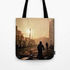 Foggy City Tote Bag