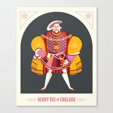 King Henry VIII of England Canvas Print