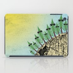 Sunning Trees Print iPad Case