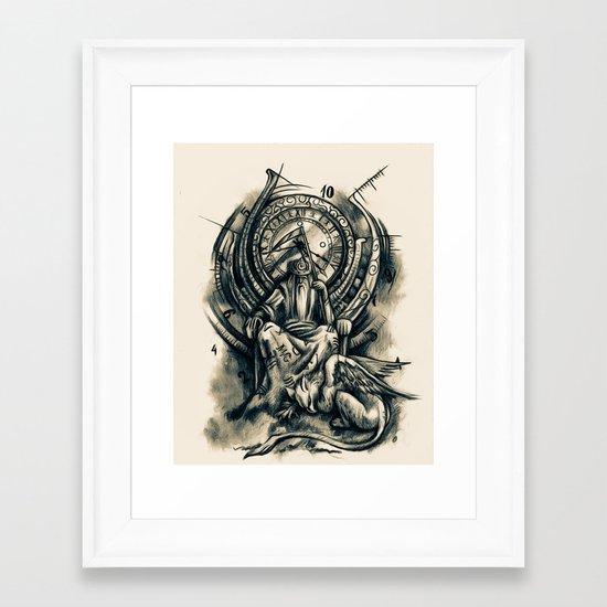 Countdown Framed Art Print