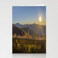 Sunrise On The Blue Ridg… Stationery Cards