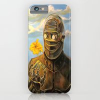 iPhone & iPod Case featuring Robot & Flower by Darren Le Gallo