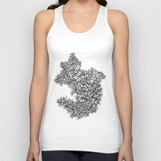Abstract 65581081 Unisex Tank Top