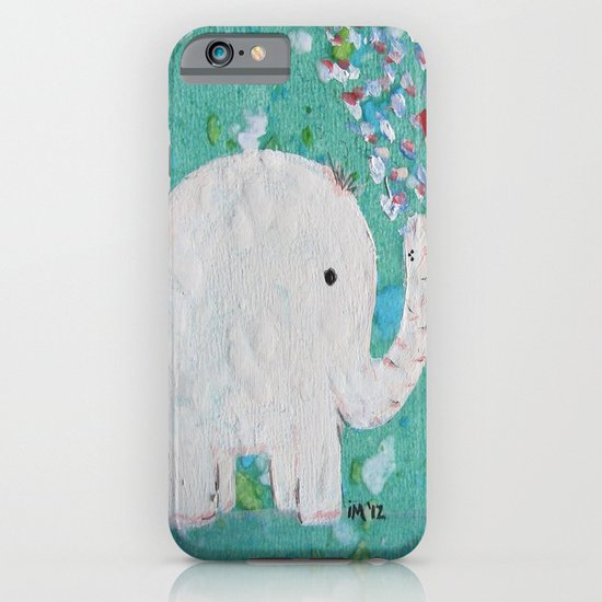 Elephants Love iPhone & iPod Case