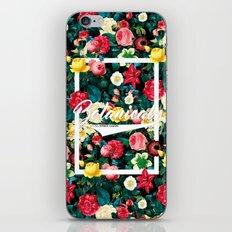 Botanical Floral 2016 iPhone & iPod Skin