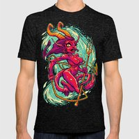 SHE-KRAMPUS Mens Fitted Tee Tri-Black SMALL