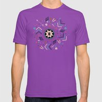 Spirits of the Stars Mens Fitted Tee Ultraviolet SMALL
