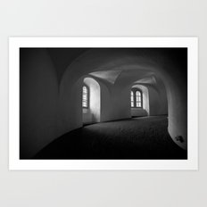 Inside the Round Tower Art Print