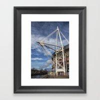 Millenium Stadium, Cardi… Framed Art Print