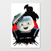 Stay Puft: Monster Madne… Canvas Print