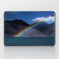 The Rainbow at Pangong! iPad Case