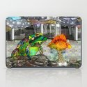 Doodlage 05 - Frog and Fungus   iPad Case