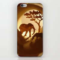 iPhone & iPod Skin featuring Africa (Afrique) by Anastassia Elias