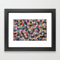 Qbert Framed Art Print