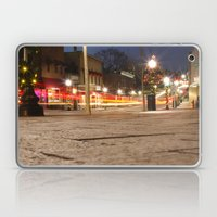 Downtown Blacksburg Christmas Laptop & iPad Skin