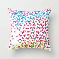 Hollywood Funfetti Sunse… Throw Pillow