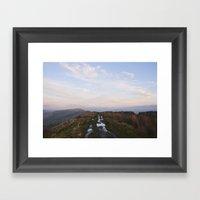 Rushup Edge At Sunset. D… Framed Art Print