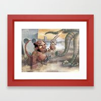 FROM HELL Framed Art Print