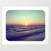 Siesta Key Sunset Art Print