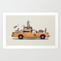 1-800-TAXIDERMY Art Print